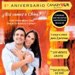 8º Aniversario Canarywok. ¿Nos vamos a China?